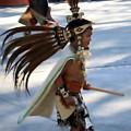 Indian Dancer 0642b by Edward Ruth