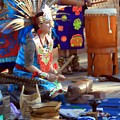 Indian Dancer Drummer 0650 by Edward Ruth