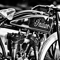 Indian Daytona Board Track Monochrome by Tim Gainey