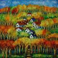 Indian Fall No 1. by Evgenia Davidov