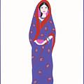 Indian Girl by Barbara Leonard
