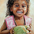 Indian Girl From The Slums by Mary Susanna Turcotte