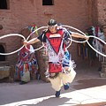 Indian Hoop Dancer by Anita Burgermeister