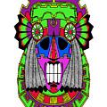 Indian Mask by Piotr Dulski