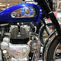 Indian Motobike Vintage V2 by Rospotte Photography