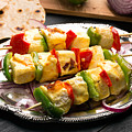 Indian Paneer Curd Cheese  by Vadim Goodwill