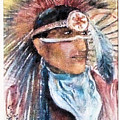 Indian Portrait by Linda Shackelford