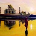 Indian Prayer by Zoltan  Szabo