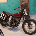 Indian Racing Motorcycle 34 by Rob Luzier