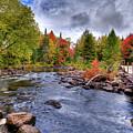 Indian Rapids Footbridge by David Patterson