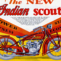 Indian Scout by Steven Parker