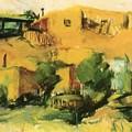 Indian Village 1917 by Henri Robert