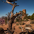 Indian Watchtower At Desert View by Jeff Folger