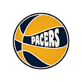 Indiana Pacers Retro Shirt by Joe Hamilton