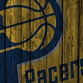 Indiana Pacers Wood Fence by Joe Hamilton
