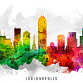 Indianapolis Indiana Cityscape 12 by Aged Pixel
