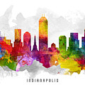 Indianapolis Indiana Cityscape 13 by Aged Pixel