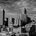 Indianapolis Indiana Skyline 19f by David Haskett II