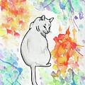 Indifferent Cat by Jennifer Johnson