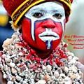 Indigenous Woman L A by Gert J Rheeders