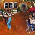 Indigo Alley by Valerie Vescovi