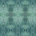 Indigo Lotus Lace Pattern 1 by Kristin Doner