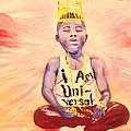 Indigo Melanin by Sean Ivy aka Afro Art Ivy
