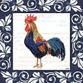 Indigo Rooster 2 by Debbie DeWitt