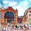 Indoor Market In Albi by Miki De Goodaboom