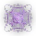 Indulgent Purple Lace by Rosalie Scanlon