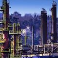 Industrial Archeology Refinery Plant 08 by Enrico Pelos