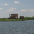 Industrial Banks Of The Charleston Harbor by Dale Powell