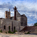 Industrial Cement Factory by Betty Denise