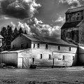Industrial Landscape In Black And White 1 by Lee Santa