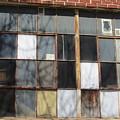 Industrial Window And Red Brick 2 by Anita Burgermeister