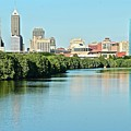 Indy White River View by Frozen in Time Fine Art Photography