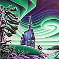 Church Of The Infant Jesus, Longlac, Ontario by Robert Davies