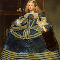 Infanta Margarita Teresa In A Blue Dress by Mountain Dreams