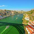 Infante Bridge Oporto by Benny Marty