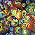 Infinite Cosmic - Abstract by Harsh Malik