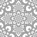 Infinite Lily In Black And White by Deborah Runham