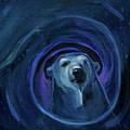 Infinity Polar Bear by Christine Montague