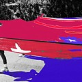 Inflatable Flag July 4th Parade 2 Tucson Arizona by David Lee Guss