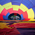 Inflating Hot Air Balloon by Bryan Mullennix