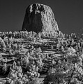 Infrared Devilstower #4 by Bill Piacesi