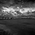 Infrared Longboat Pass Bridge by Rolf Bertram