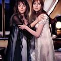 Ingrid Pitt And Madeline Smith by Mary Bassett