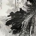 Ink Lotus by Zhang Daqian