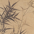 Ink Painting Stone Bamboo by Asian Art