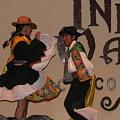 Inka Dancers by Sandra Bourret